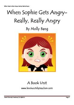 when sophie gets angry lesson plan - Google Search | Feelings ...