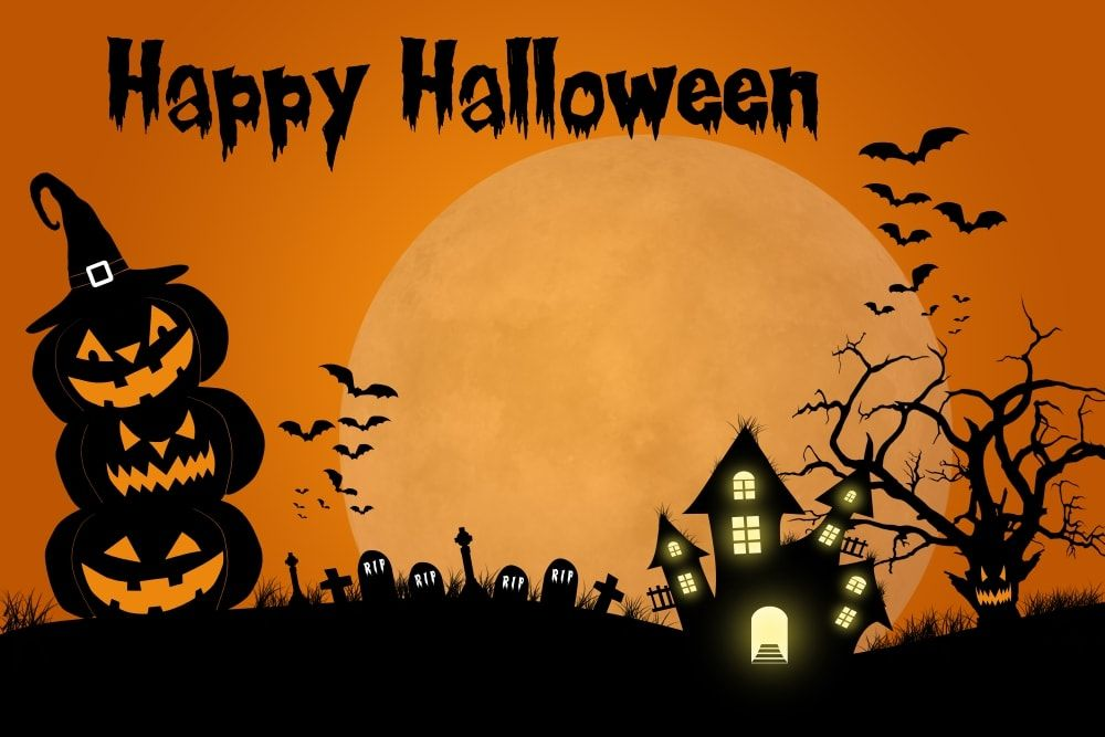 Spooky And Scary Halloween Wallpaper Free Download (With