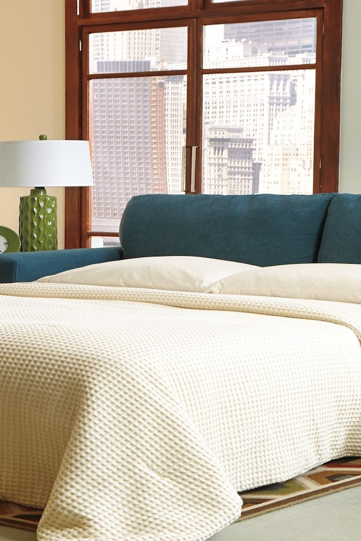How to make a pull out sofa bed more comfortable pull