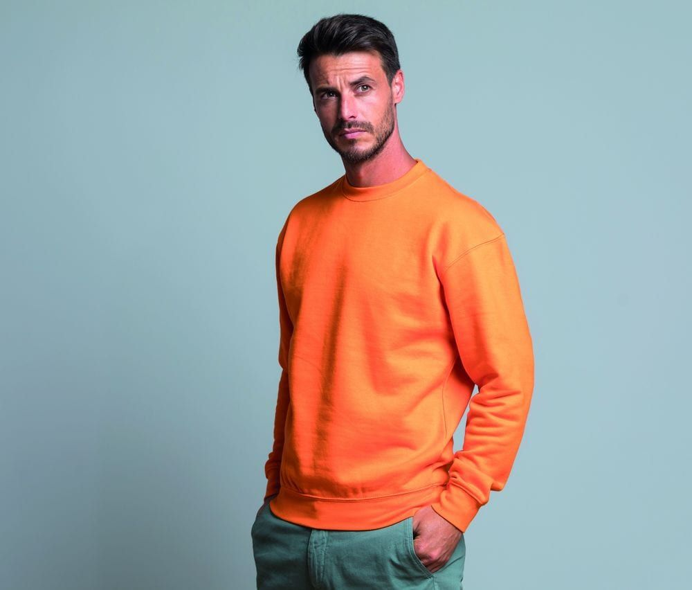 Sweat à capuche unisexe orange – JHK JK290 – taille: XL   – Products