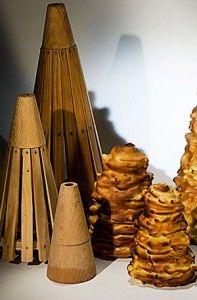 dégagement beauté Beau design Le gâteau à la broche, spécialité du Midi-Pyrénées constitué ...
