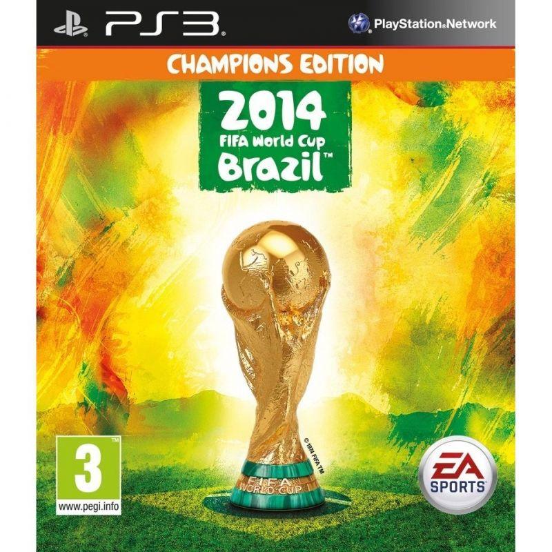 2014 Fifa World Cup Brazil Champions Edition Playstation 3 Sports Fifa 2014 World Cup Ea Sports Fifa Fifa