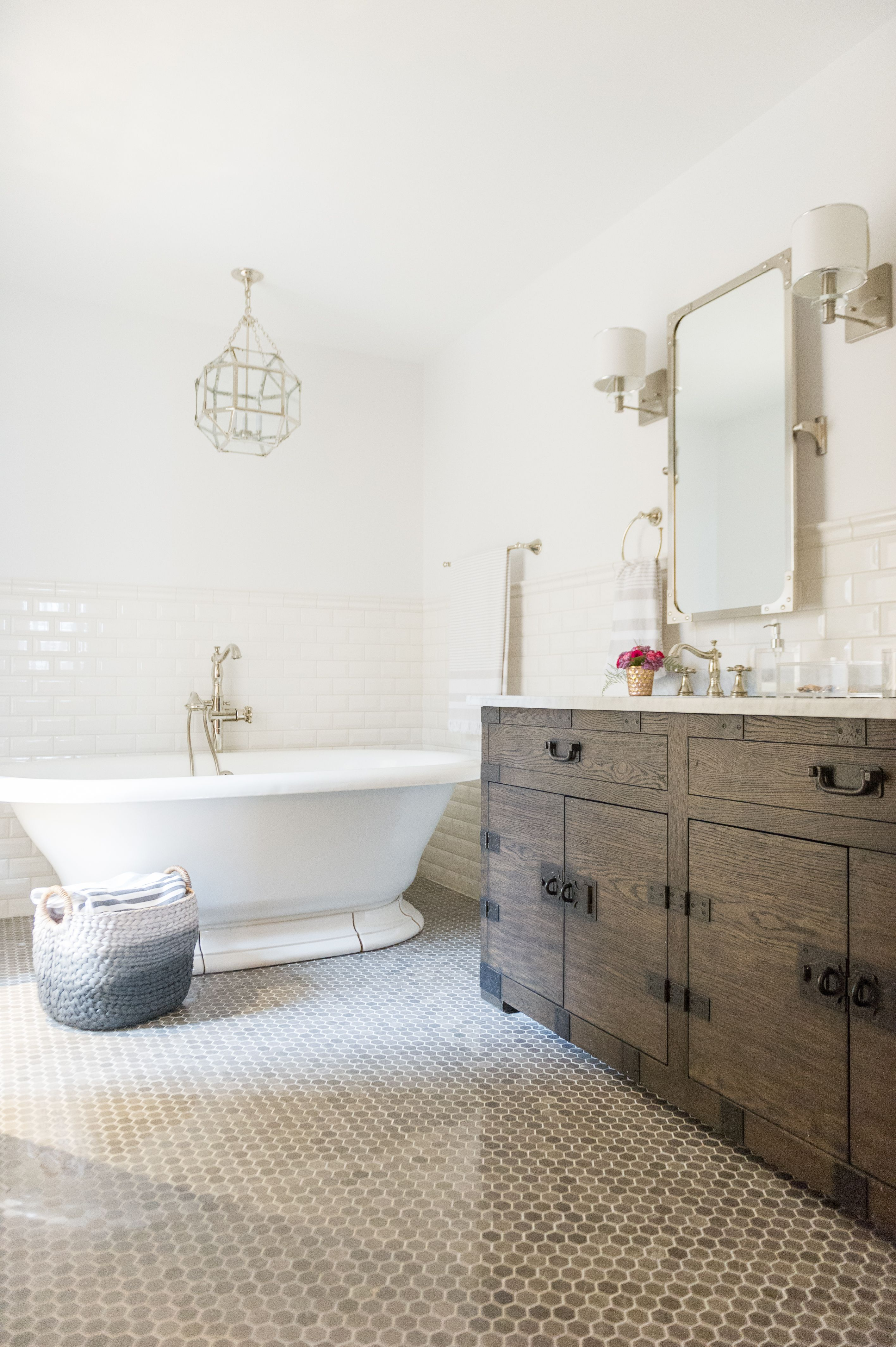 Modern French Country Ensuite Renovation Reveal French Country