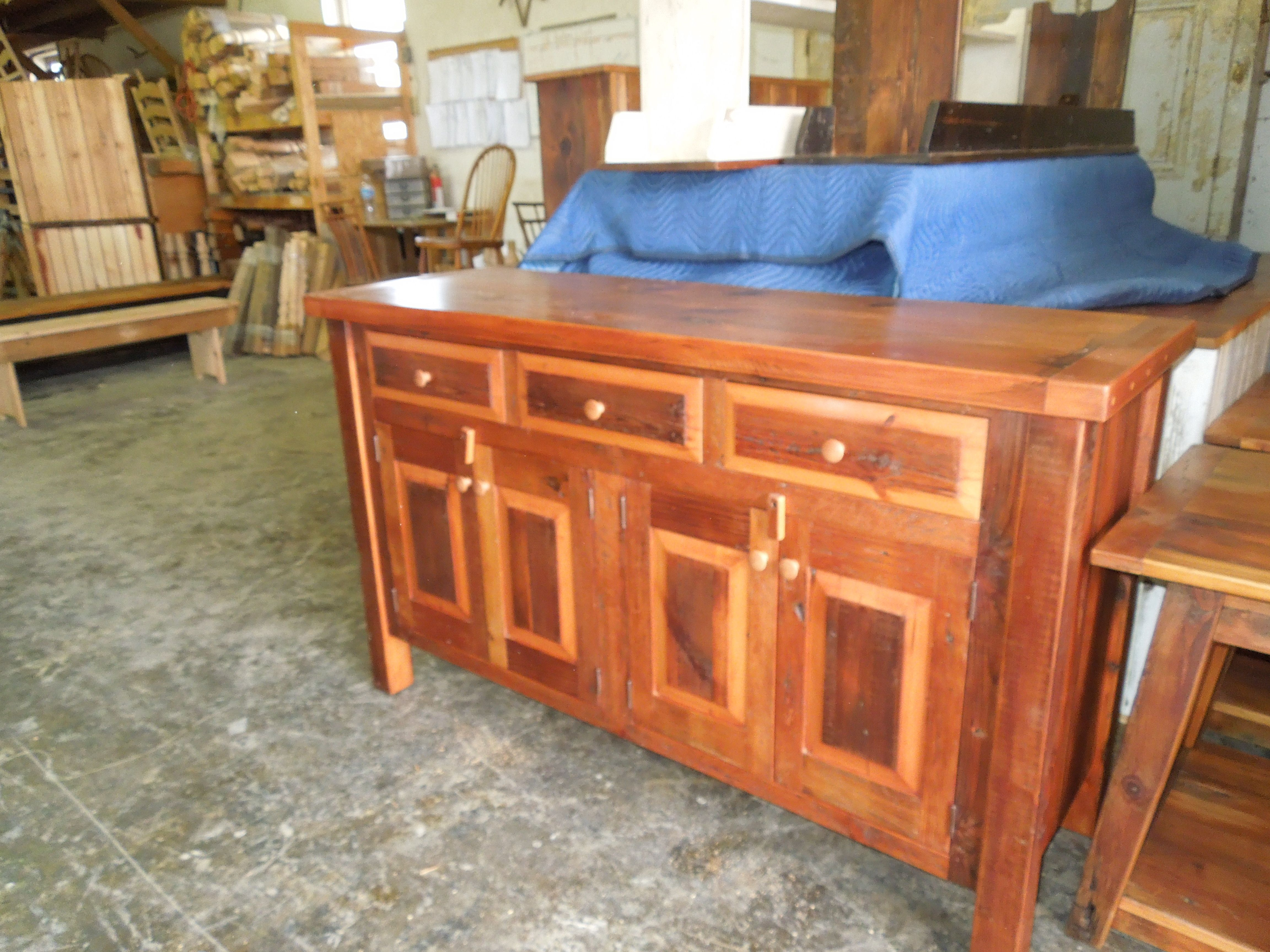 Barn Wood Kitchen Island Reclaimed Furniture