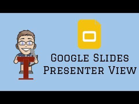 Google Slides Presenter View - YouTube GSuite for Education