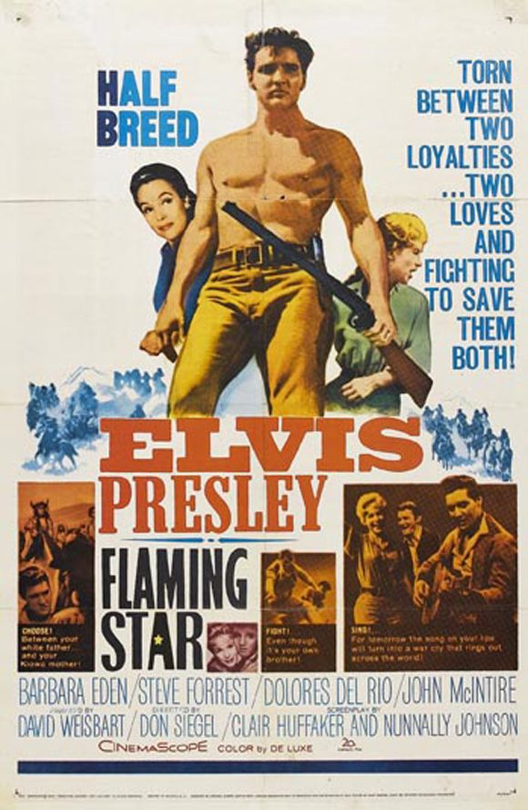 Image result for Flaming Star poster