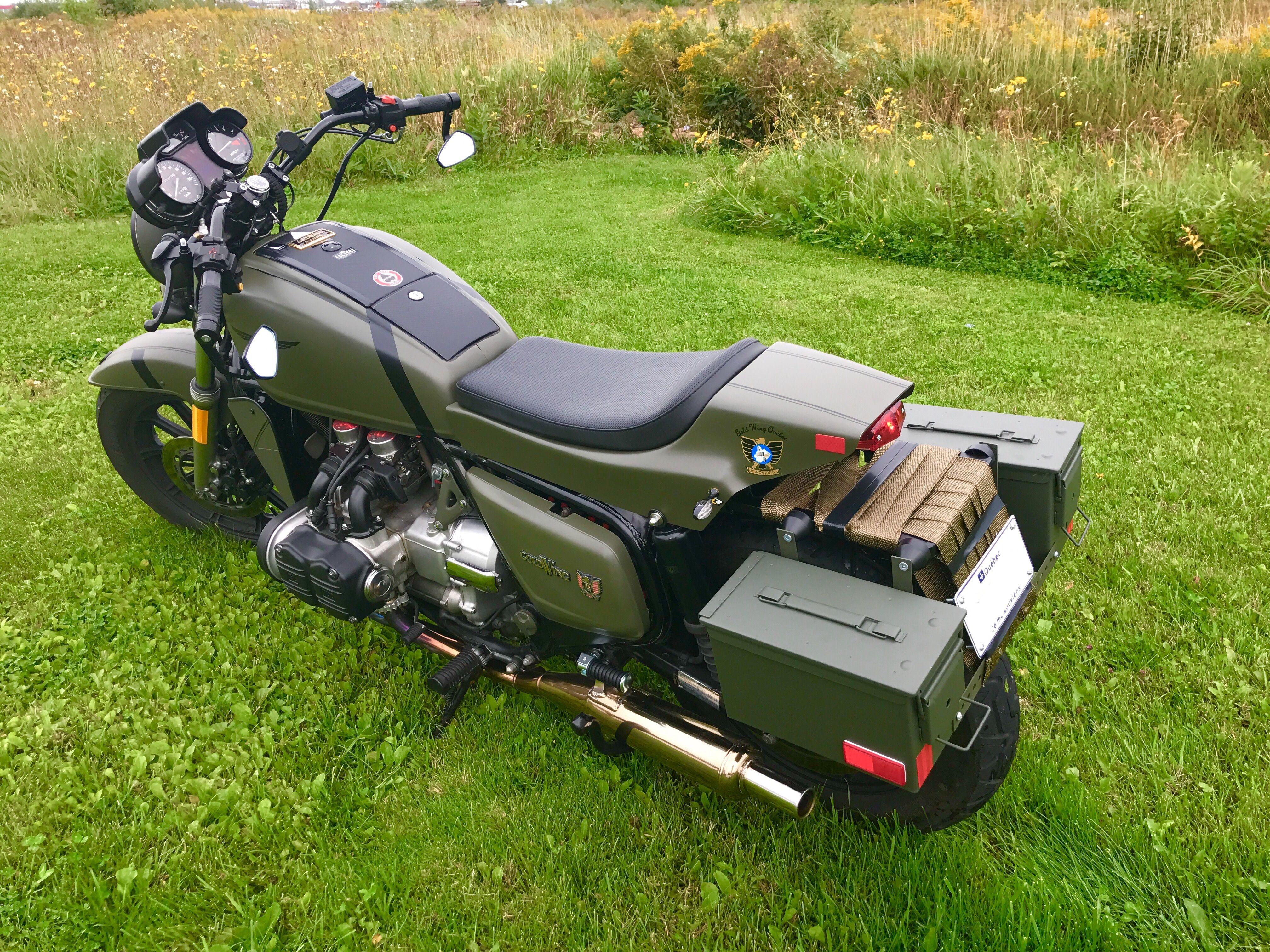 New Look Goldwing Gl 1100 1982 Vintage Honda Motorcycles Adventure Bike Goldwing