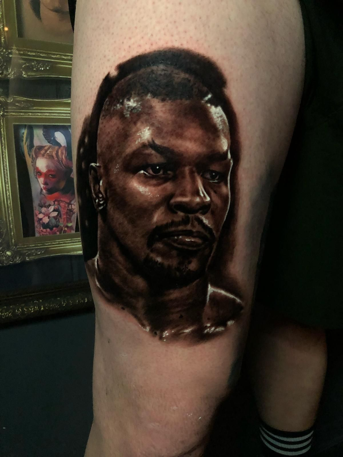 Mike Tyson tattoo by Peter! Limited availability at