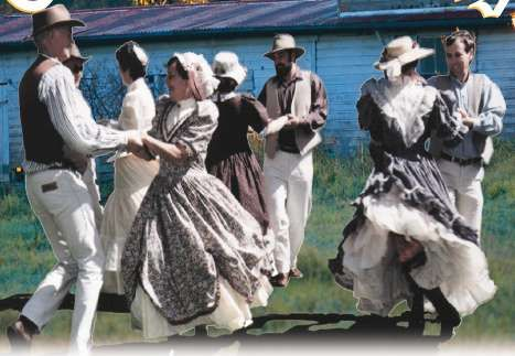 Arts The Picture Above Is Of People Doing The Bush Dance