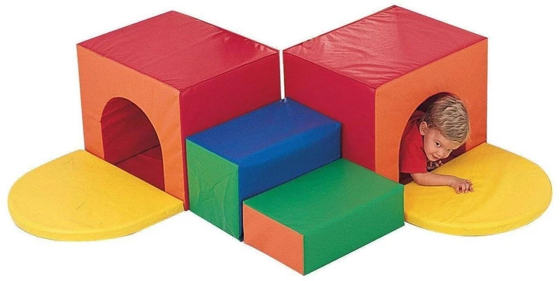 Corner Tunnel Climber (2020) Soft play, Indoor play