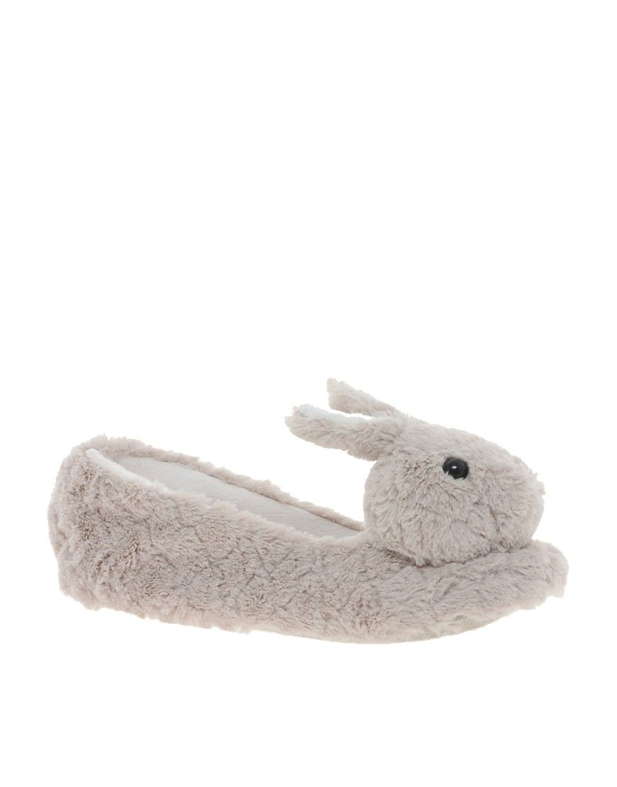 c2a29973bab93 New Look Novelty Bunny Slippers | Warm your feet | Slippers, Bunny ...