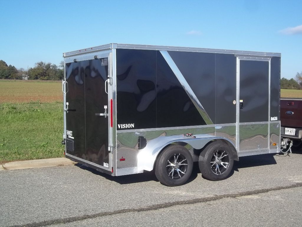 BEST TRAILERS 2015 enclosed look 7 x 12 vmp Macon, GA