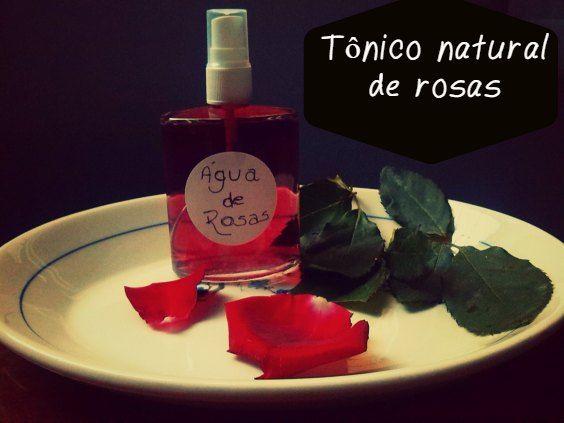 Tonico Facial De Agua De Rosas Incrivel Pratico E 100 Natural
