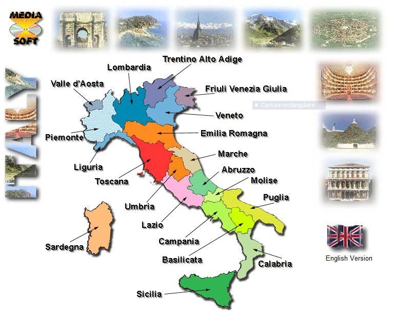 Fabuleux Geografia per la scuola primaria: alla scoperta dell'Italia e  RR29