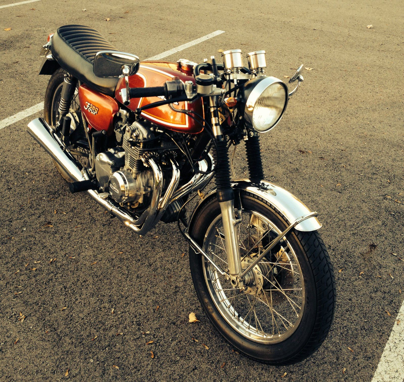 For Those Of You Looking A Classy Sophisticated Ride On The Cheap Cant Go Wrong With Bike Like This 1972 Honda Cafe Racer