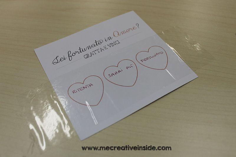 gratta e vinci fai da te san valentino diy tutorial ME creativeinside