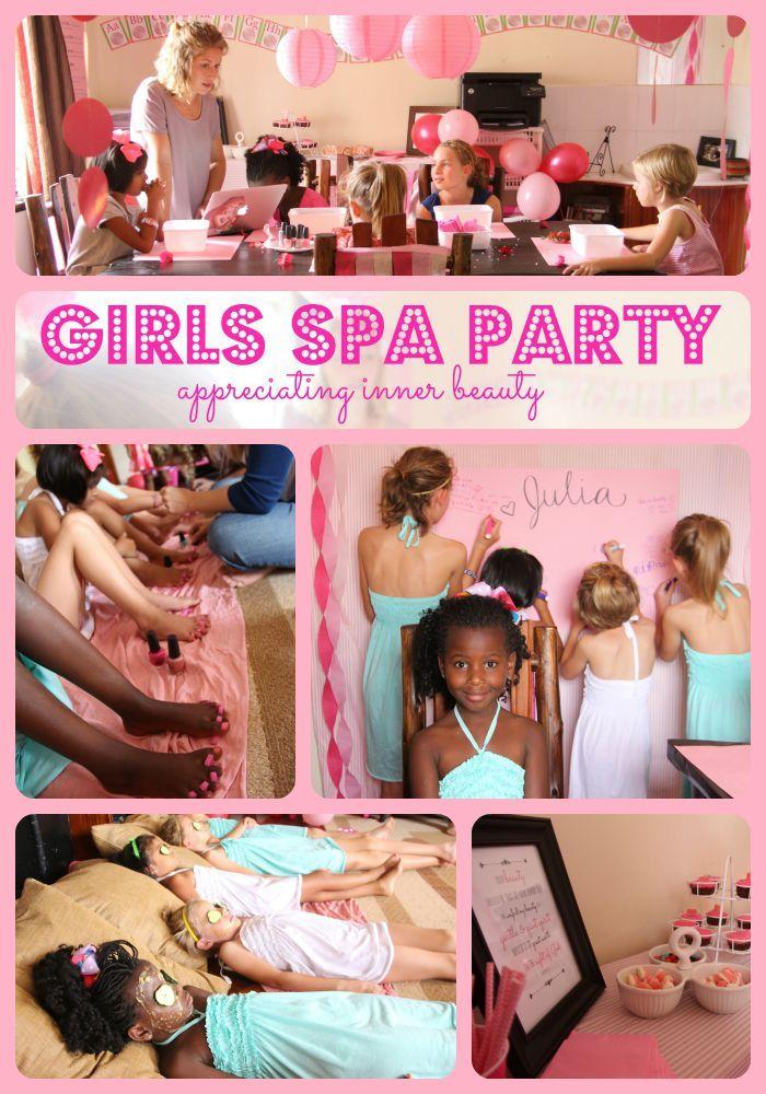Theme girls spa party pensacola