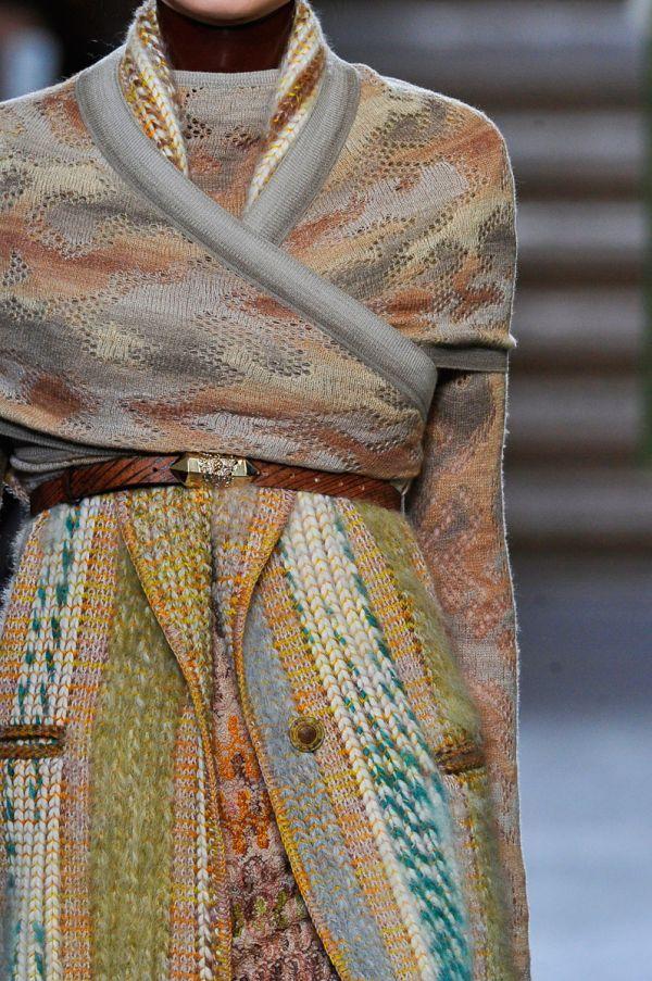 Missioni A/W 2012 – Knit textures