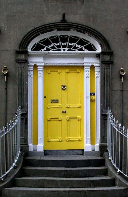 B&B Yellow Door by CJ in CA