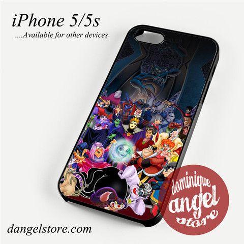 Disney villains 4 iphone case