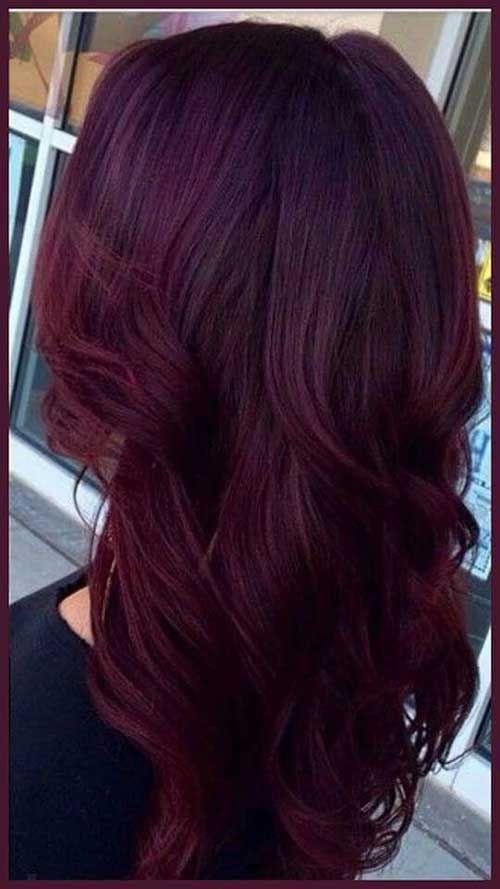 Long-Dark-Red-Hairstyle.jpg (500×889)   Hair   Pinterest   Hair ...