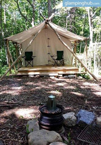 Safari Tent Tennessee | Safari tent, Luxury camping, East ...