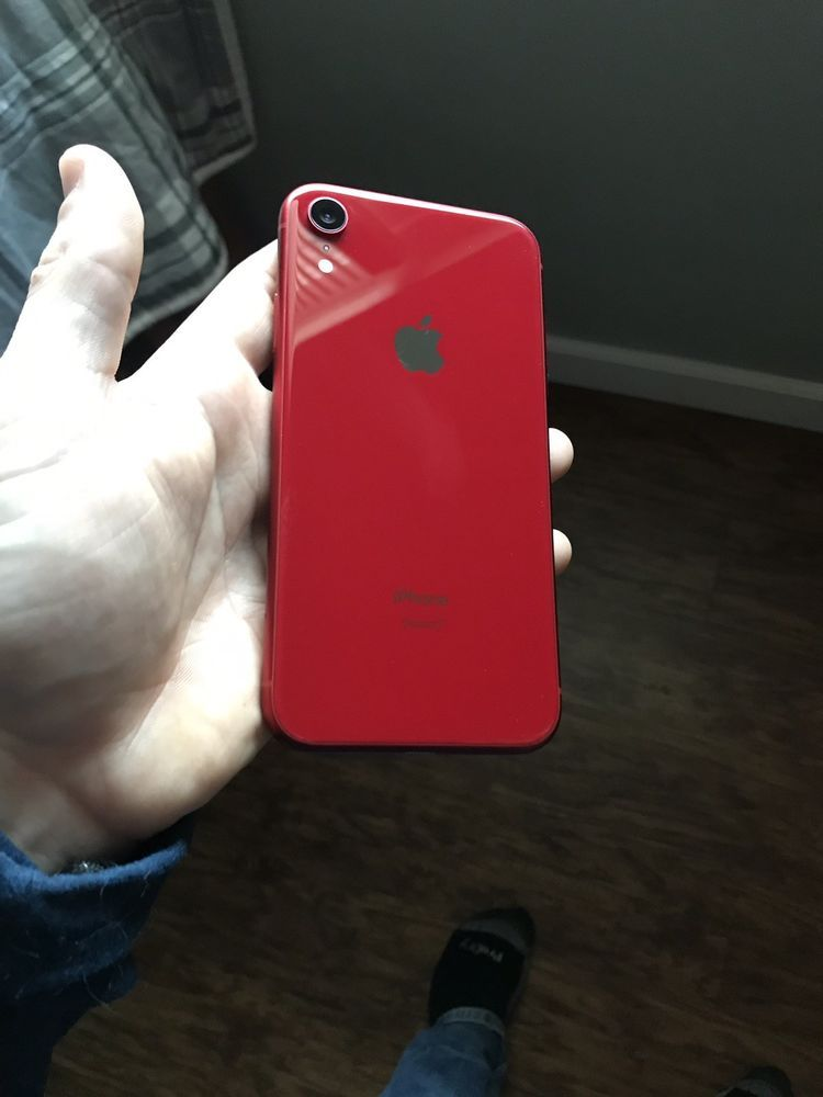 Apple Iphone Xr Product Red At T A1984 128 Gb Iphone Phone