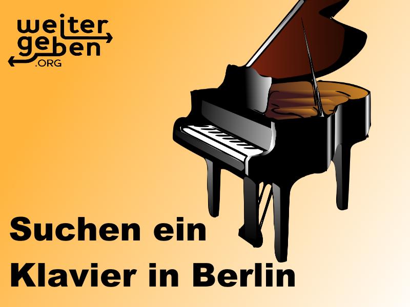 Suchen Klavier In Berlin G144 2 Sachspenden