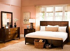 Raymour Flanigan offers master bedroom sets for the ...