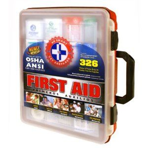 This Thing Is Big Auto Emergency First Aid Kit For Large Groups Great For Family Office School H Emergency First Aid Kit First Aid Kit Emergency Kit