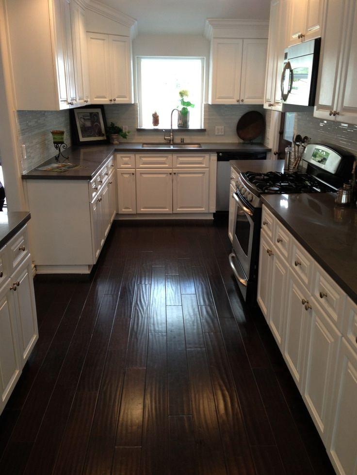 Account Suspended   Wood floor kitchen, Dark brown kitchen ...