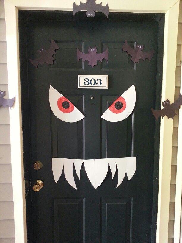 Fun Halloween Door Craft. & Fun Halloween Door Craft. | Crafts And Fun For Kids | Pinterest ...