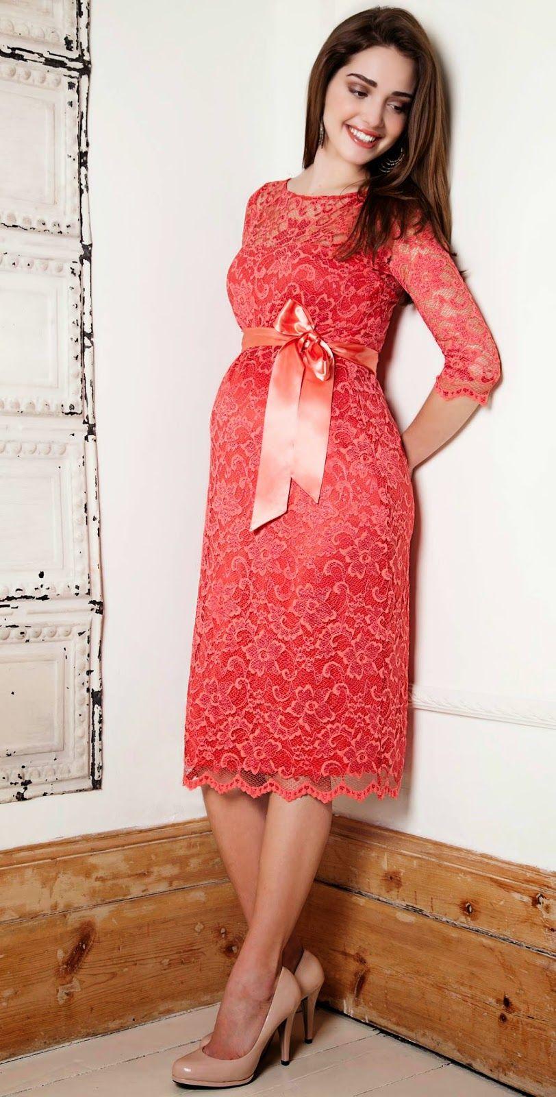Modas de vestidos de fiesta para embarazadas