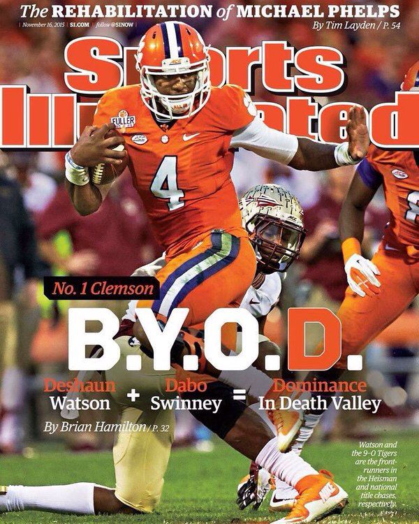 So Proud Of My Clemson Tigers With Images Deshaun Watson Clemson Football Clemson Tigers Football