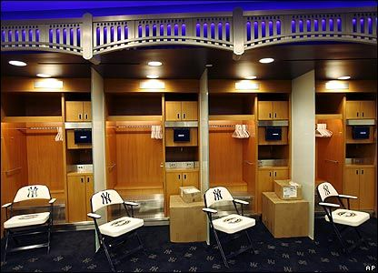 Yankee Locker Room
