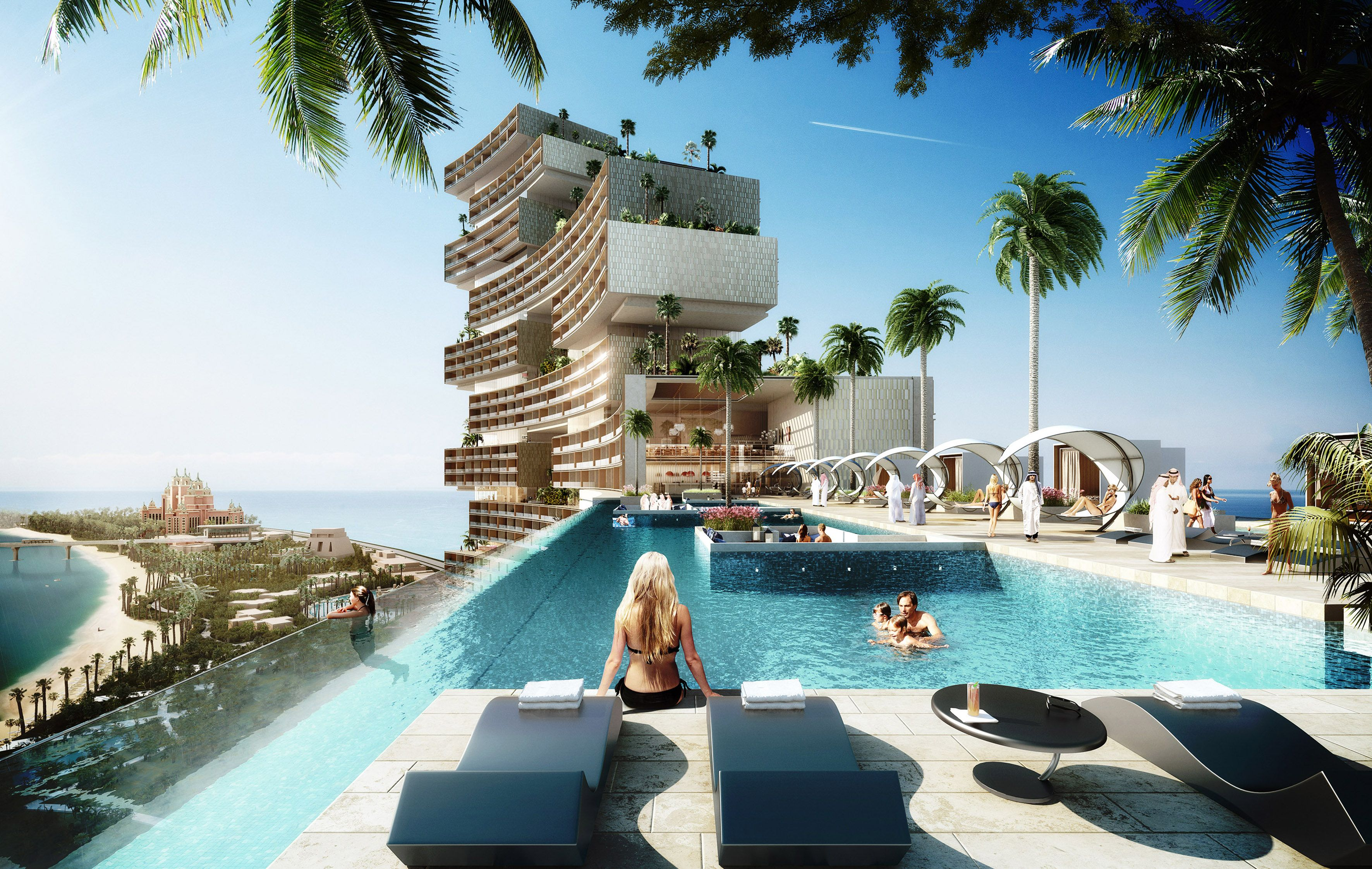Innovation Meets Nature At The Royal Atlantis Residence To Create The Most Prestigious Ocean