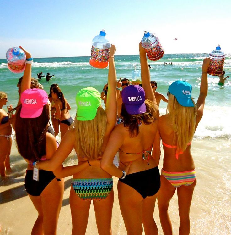 college spring break photos