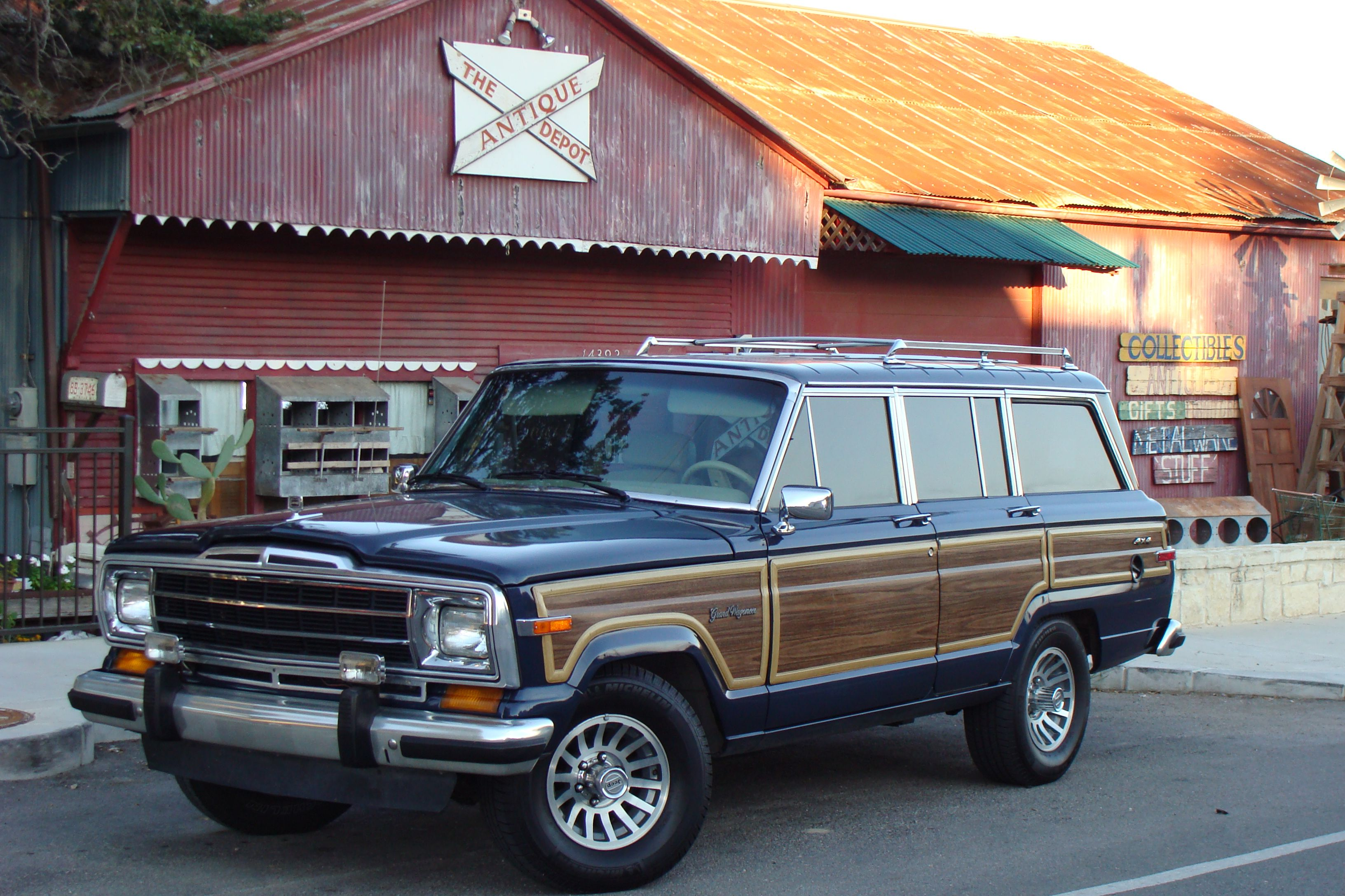 Finally My 89 Grand Wagoneer In Baltic Blue So Fab Vintage