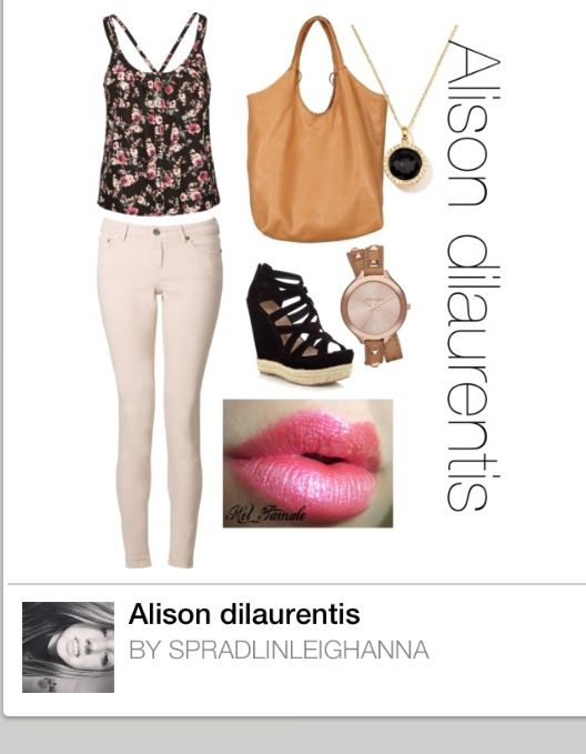 Alison Dilaurentis Polyvore With Images Pretty Little Liars