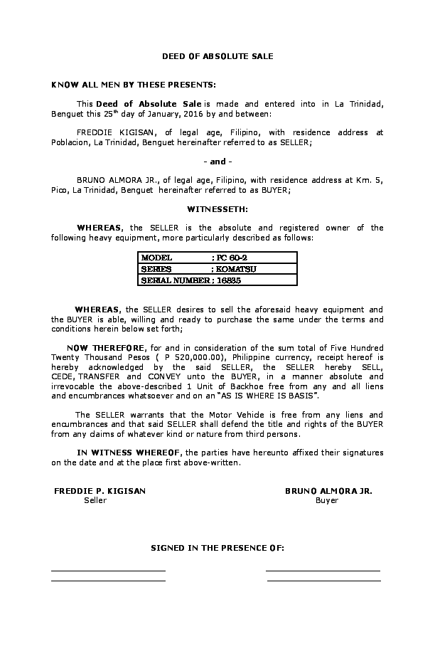 Deed Of Sale Form 2 How Deed Of Sale Form 2 Can Increase Your Profit Simple Budget Template Resume Template Word Simple Budget