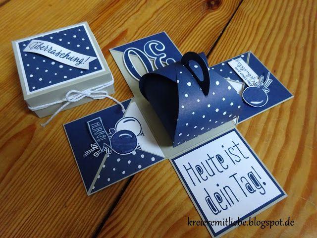 Explosionsbox Explosionsbox Geschenke Box