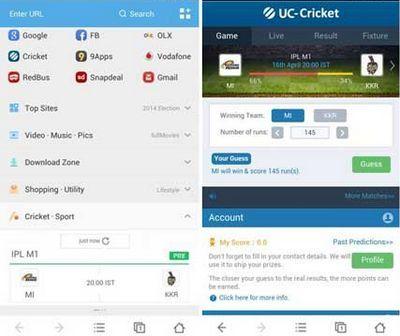 Unduh Uc Browser apk gratics