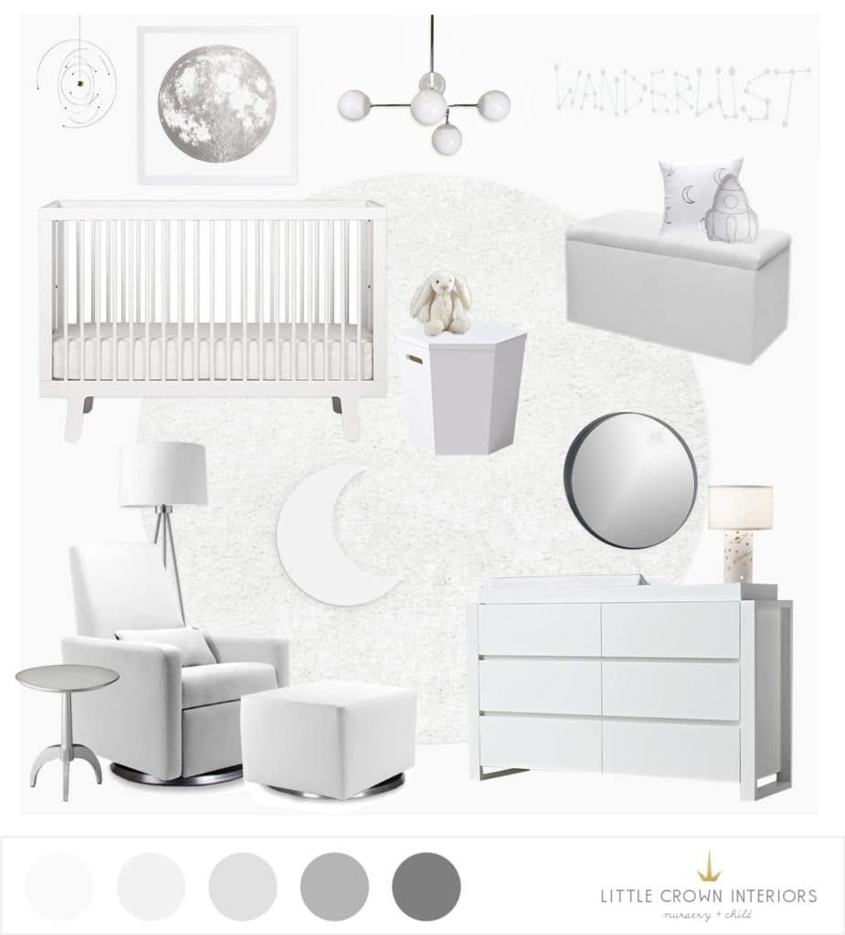 Gasp Design how exactly does e design work an all white nursery design gasp