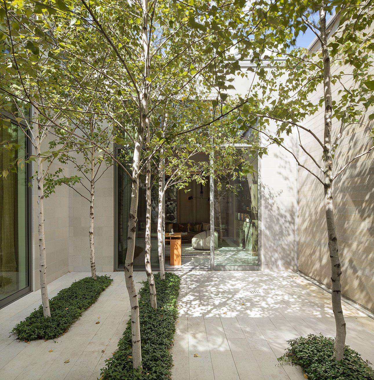 Coen partners landscape architects lake minnetonka residence wayzata gardens pinterest - Moderne tuin ingang ...