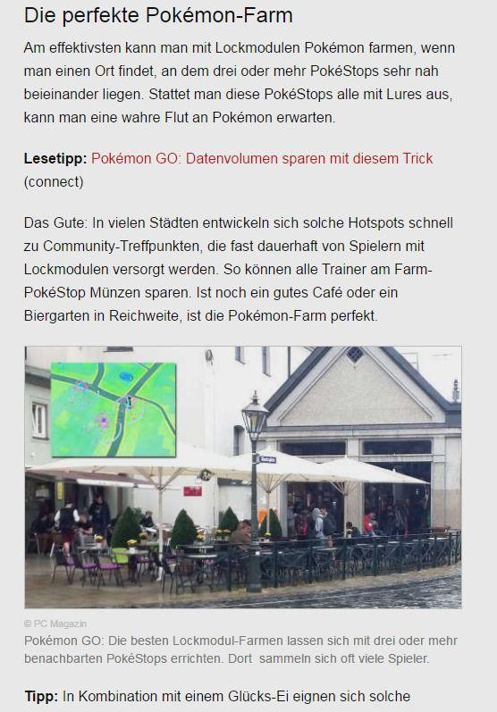 Pokémon Go Lockmodule Bekommen Und Richtig Einsetzen Pc Magazin