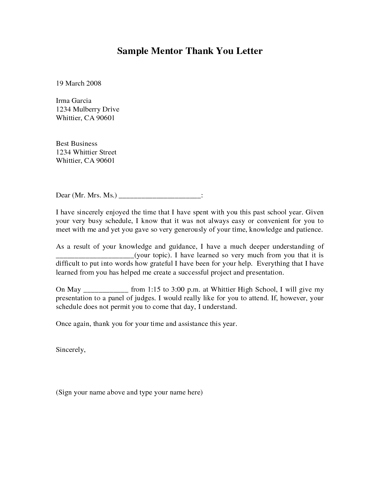 Job Application Reference Letter Template For College University