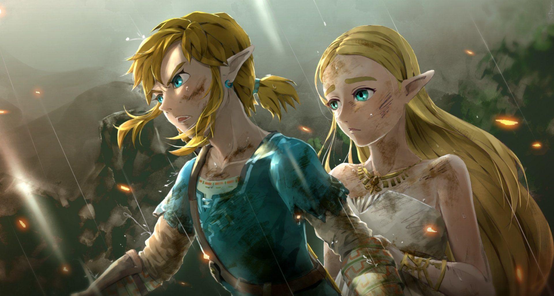 2100x1126 The Legend Of Zelda Breath Of The Wild Wallpaper