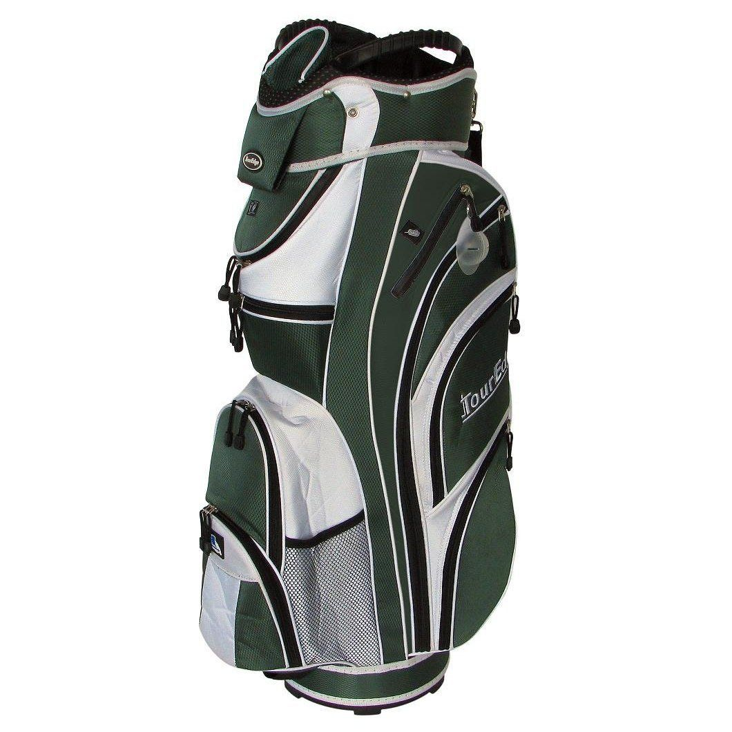 Providing the ultimate combination of features and comfort these mens max-d golf cart bags by Tour Edge will help you to play your very best golf