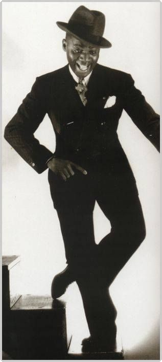 Bill 'bo jangles' Robinson. He taught Fred Astaire, the Nicholas Brothers and Shirley Temple.