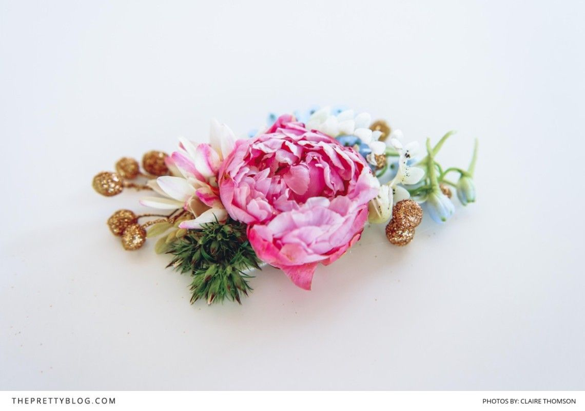 Will You Be My Bridesmaid DIY Floral Belt  Floral Floral designs